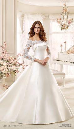 Colet by Nicole Spose 2016 Wedding Dress Stili Di Abiti Da Sposa 203eb626347