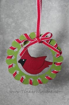 a month of Stampin' Up!® ornaments at this blog!