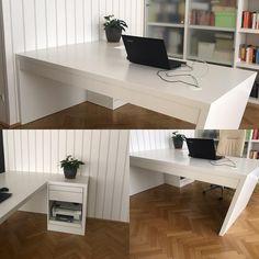 Perfektes Homeoffice 💪 #stayhome #work #interiordesign #interior #home #workhard #newroom #😀 New Room, Office Desk, Corner Desk, Interiordesign, Instagram, Furniture, Home Decor, Corner Table, Desk Office