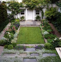 small garden courtyard sanctuary