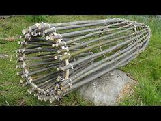 Primitive Survival Fish Trap. (FISH CAUGHT) - YouTube