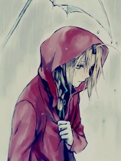 """Edward Elric """"each drop is just more depressing"""""""