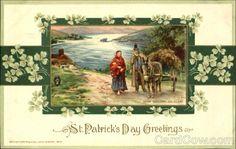 St. Patrick's Day Greetings Series 62209