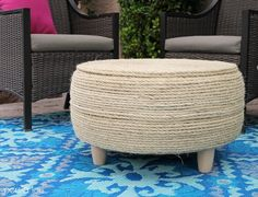 When we were working on putting together our Outdoor Living Room Update, we really needed some kind of coffee table or ottoman to make the space work. It's kind of magical out a pretty coffee table can transform a collection of chairs into a living space. I wasn't sure if we wanted to buy or …