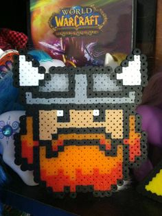 Yogscast Honeydew 8 bit perler beads by Unraveled Adornments on Etsy, $3.00