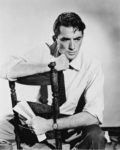 Gregory Peck. They don't make them like this anymore...