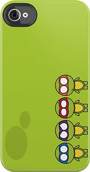 TMNT Teenage Mutant Ninja Turtles iPhone case