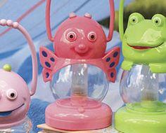 Pink Butterfly Animal Lantern