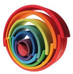 Creando con el arco iris grimm´s...
