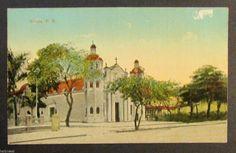 Antique Postcard Ponce Cathedral Ponce Puerto Rico Liebig SJ PR 1910'S | eBay