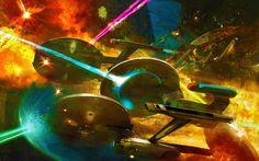 Star Trek Battle by ~rehsup on deviantART
