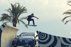 We've made the impossible, possible. The Lexus Hoverboard is here.