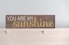 GroopDealz | You Are My Sunshine Wood Sign