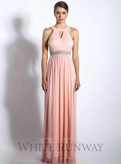 Pre-Order Rossa Dress by Samantha Rose #whiterunway #bridesmaiddress #fulllengthdress  #weddingguest #orangedress #orangewedding