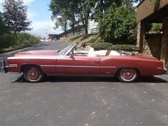 1975 Cadillac convertable - because Mom needs a birthday gift!