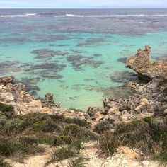 Cycling around Rottnest Island allows you to stop whenever you want and see awesome views like this. #rottnestisland #fremantle #westernaustralia #australia #indianocean #cycling #snorkelling #shipwrecks #nature #travel by tolovetolive http://ift.tt/1L5GqLp