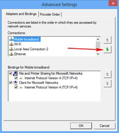 How to Make Windows Select Wired Connection Instead of Wireless Connection