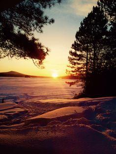 Lever de soleil Amazing