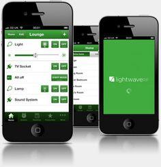 LightwaveRF (requires a base station)