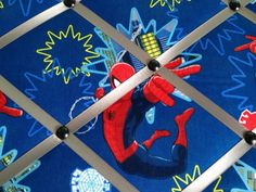 Spiderman blue red gray Marvel comic Memory by RibbonsofMemories