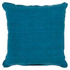 Solid  Toss Pillow - Teal