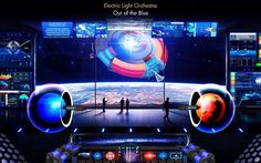 A Journey through time and space. Inside the ELO ship