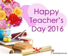 Thank you teacher! We all wish you a Happy Teacher's Day.