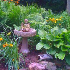 Mary Homann's garden