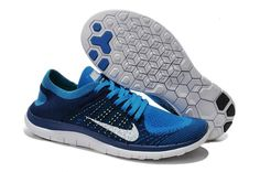 purchase cheap 95b88 60d27 Buy 2016 2015 Nike Free Flyknit Mens Running Shoes Newest Couples Sneaker  Navy Blue White Sale from Reliable 2016 2015 Nike Free Flyknit Mens Running  Shoes ...