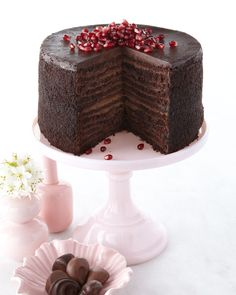 Strip House Restaurant 24-Layer Chocolate Cake