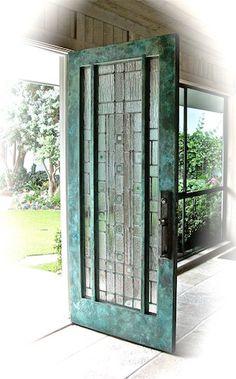 copper & leaded glass