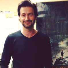 Rchard Armitage - Baby doll looking awful tired (but no less lovely) during the DoS junket.