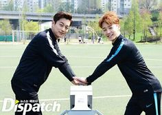 Dujun Gikwang - Beast 160423 | Shoot for Love Charity Campaign | 160428 koreadispatch update instagram