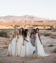 Wildest Dreams Inspiration in the desert for the boho bride
