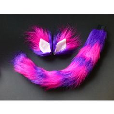 cheshire cat tail and ears diy - Google Search More
