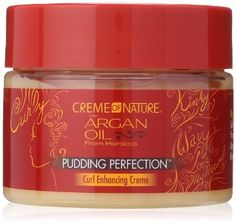 Fall in love with your curls using Pudding Perfection, a moisture-enriched, curl-enhancing creme, formulated especially to tackle frizz, shrinkage and dryness of natural coils and curls. PRODUCT BENEF