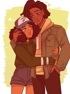 💗Louis x Clem💗 Walking Dead Show, The Walking Dead Telltale, Walking Dead Series, Walking Dead Drawings, Game Character, Character Design, Clementine Walking Dead, Walking Dead Characters, Shall We Date