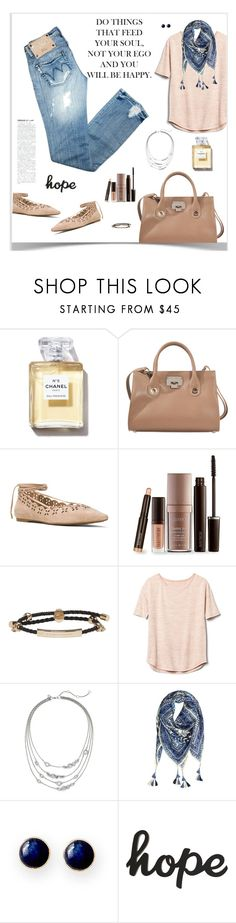 """Monday in California"" by sherry7411 on Polyvore featuring Jimmy Choo, MICHAEL Michael Kors, Laura Mercier, Alexander McQueen, Gap, Alexis Bittar, Vismaya and Mark & Graham"