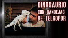 tutorial de como hacer un decorativo de dinosaurios - YouTube