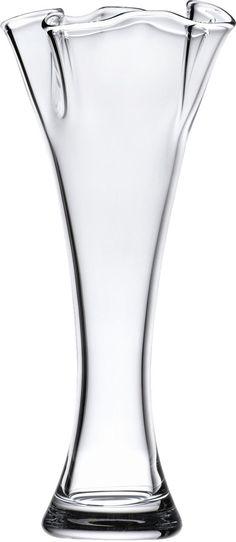 Organics Ruffle Medium Cylinder Vase