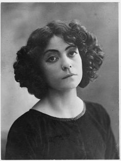 Asta Nielsen (May 24, 1883 - September 11, 1972) Danish actress (the movie 'Hamlett').