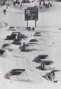 Great Blizzard of 1978(not saying she liked it, just have a vivid memory of her using a child's wagon to go out and get groceries...)