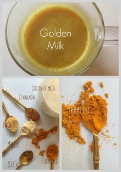 {post by our Contributing Raw Foods Author, Teniel Moore}  I know when its coldoutside,you want something delicious, sweet & hot to warm you on the inside, and make you feel good. You might reach for a hot chocolate full of processed sugar &artificialflavors & sweeteners.  Next time you fancy a comfort drink why not try my golden milk. This is delicious creamy & full of warming spices that not only taste yum but are so good for you.  Did you know that turmeric is a natu
