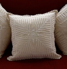 1000 id es sur le th me coussins au crochet sur pinterest oreiller en crochet crochet et. Black Bedroom Furniture Sets. Home Design Ideas
