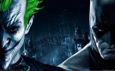The Joker Vs. Batman - Batman Arkham Asylum Wallpaper (15416119) - Fanpop