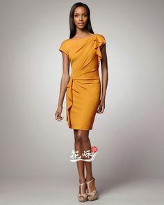 10 Платье с драпировками