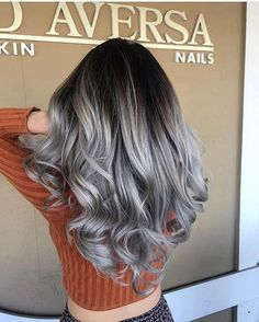 awesome 45 Unbelievable Silver Ombre Hair, Grey Ombre Hair -- Stunning Ways of Wearing
