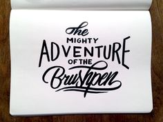 Project365 #50 The Mighty Adventure Of The Brushpen by bijdevleet