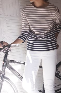 stripes and white
