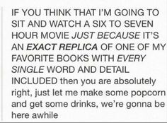 Yeah, bit only if it is the EXACT replica, and with the actors in the imagination :D Book Memes, Book Quotes, Karma, Books To Read, My Books, Single Words, Percy Jackson, Jackson Movie, Book Fandoms